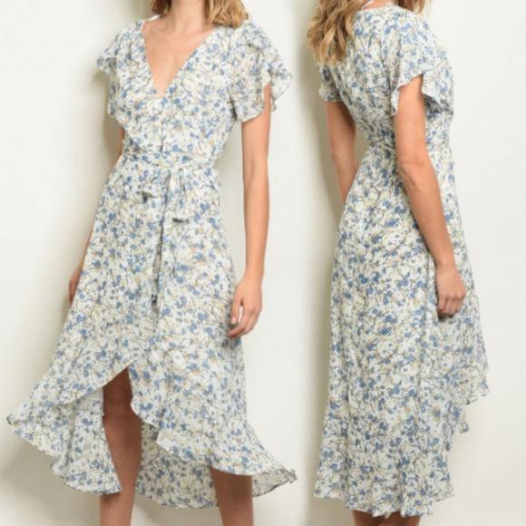 c5a6de0118f93b Dresses | Dahlias English Garden Vintage Style Maxi Dress | Poshmark